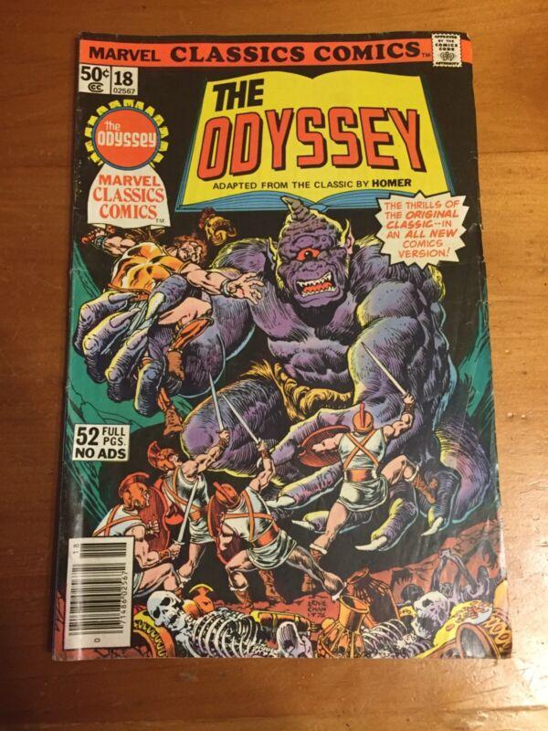 The Odyssey #18 1977 Marvel comic
