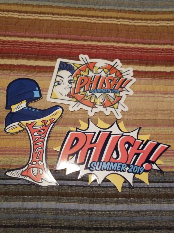 Phish Bubblegum Sticker Set Summer Tour 2019 (not pollock baker