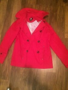 Red JESSICA coat size sm