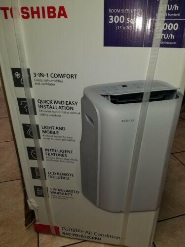 Toshiba Portable Air Conditioner Dehumidifier Remote Control
