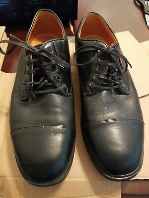 Vintage Nike Tiger Woods Mens Sz 11 TW Last Black Leather Oxford Golf Shoes