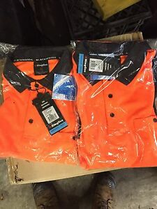 2x brand new hi-vis long sleeve polos great quality Roxburgh Park Hume Area Preview
