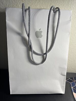 Apple Retail Shopping Store Bag 11 X 8 X 5