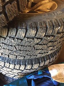 """20"""" Dodge Rims and almost new tires"""