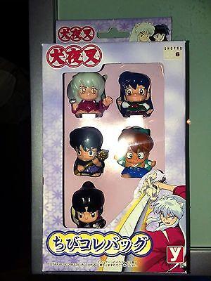 "InuYasha Mini Chibi Toy Figures, 1.5""/each, 5-piece set, (Made by Yutaka 2002)"