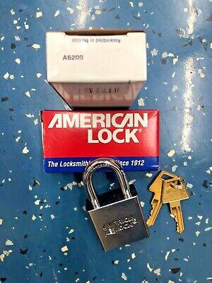 Nib American Lock Padlock Military Use A5200