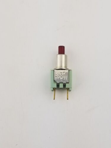 New Alco TPB11FGPC2 ON-(ON) Momentary Push Button Switch .4VA 20VDC