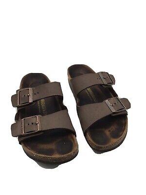 Birkenstock Kids 34 Arizona Brown Mocha Sandals. Excellent Preowned Condition