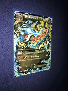 Mega Charizard EX pokémon card