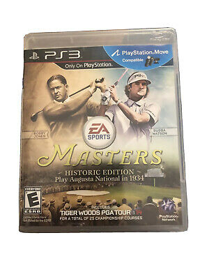Tiger Woods PGA Tour 14 -- Masters Historic Edition (Sony PlayStation 3, 2013)