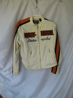 Womens harley davidson jacket, large