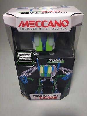Meccano Erector - Micronoid Code Zapp Programmable Robot Building Kit