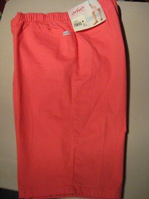 Camelia Rose - CHIC Womens 2 Pocket Comfort Stretch Bermuda Shorts Elastic Waist Camelia Rose