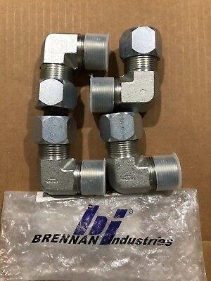 4- Brennan C2501-16-16-fg 90 Deg Elbow Forged 16bt-16mp Elb Forg Free Shipping