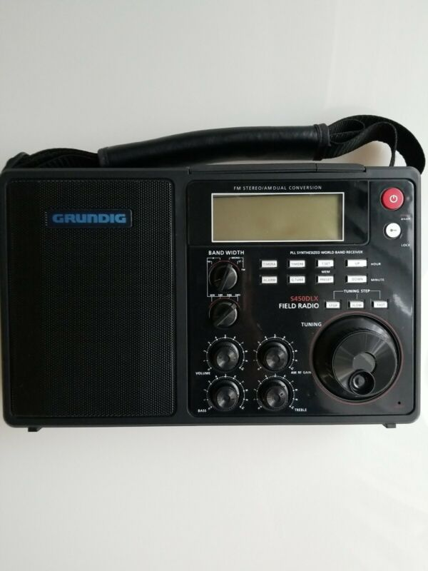 Grundig S450DLX Portable Am/Fm Dual Conversion Used #166706-1 tested working