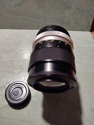 Objectif Nikon Nikkor Q 135mm F2.8 lense, usado segunda mano  Embacar hacia Argentina