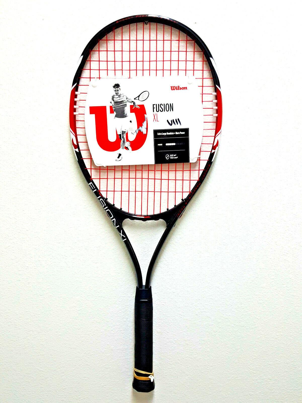 fusion xl tennis racket 4 3 8