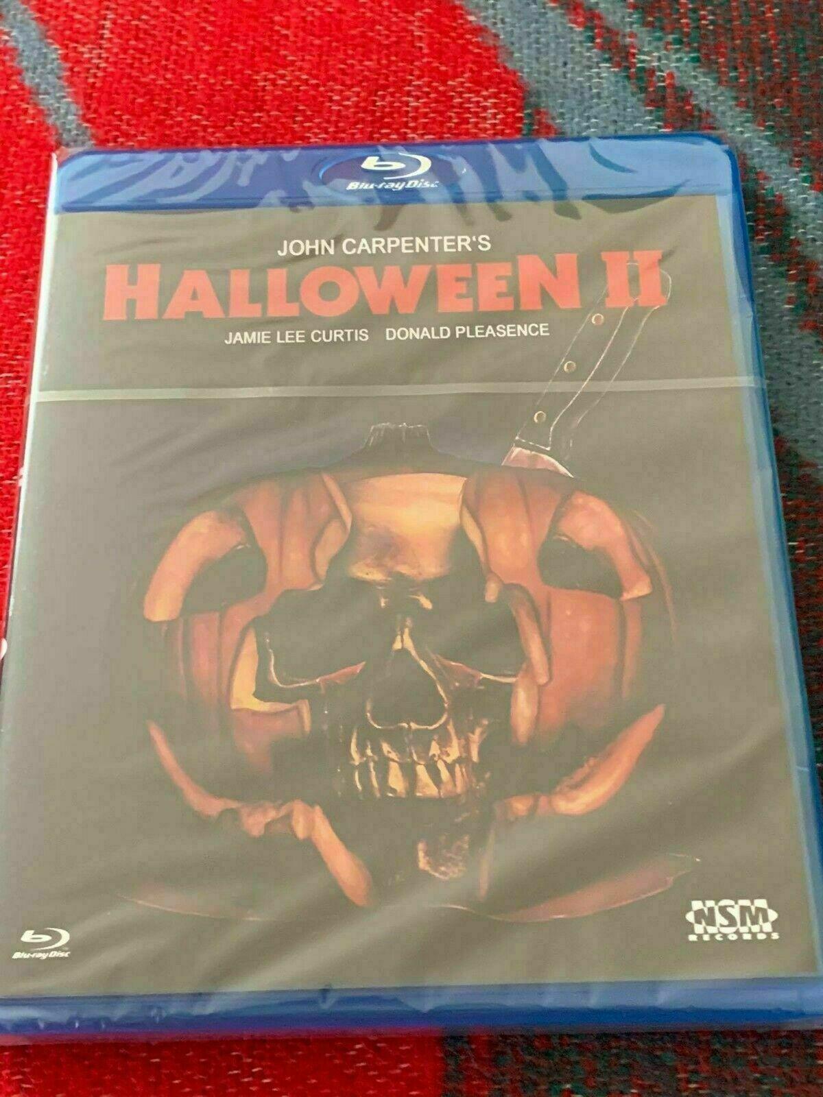 Halloween 2 - John Carpenter - Blu Ray - Uncut - Horror - Kult - Neu.