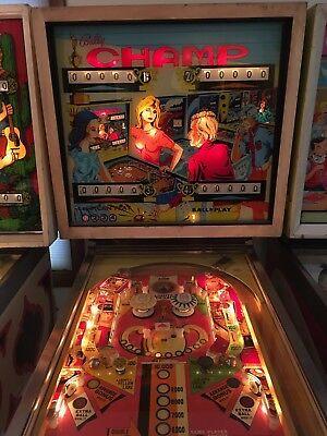 Bally CHAMP Pinball Machine (1974)