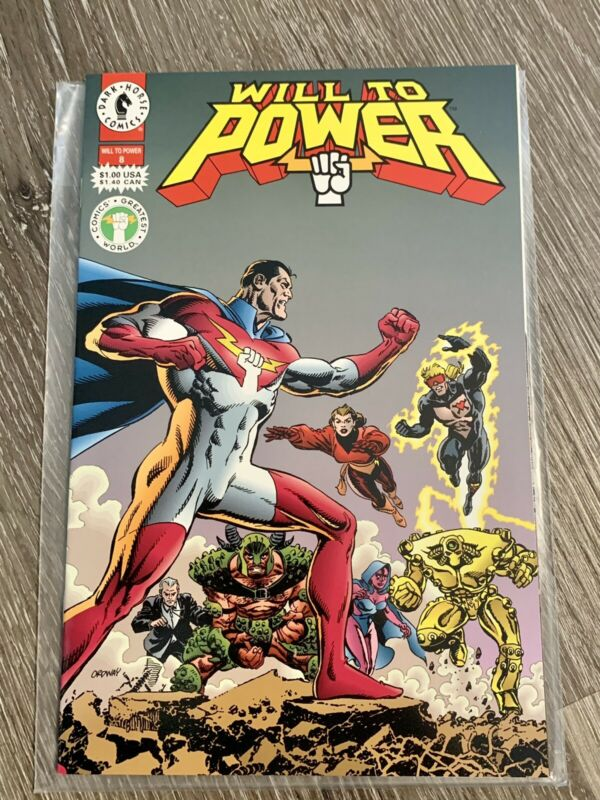 WILL TO POWER #8 DARK HORSE 1994 NM+