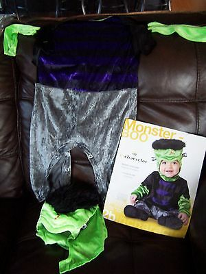 NWT In Character MONSTER BOO Halloween COSTUME Infnat boy 18 months - 2 years - Boo Monster Halloween Costume