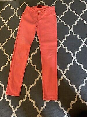 James Jeans Twiggy  Coral Skinny Size28