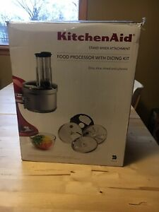 Kitchen Aid Food Processor  with dicing kit
