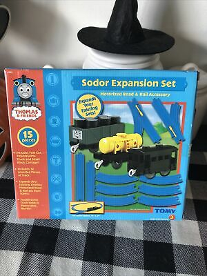 Sodor Expansion Set Thomas & Friends TOMY Motorized Train Set Battery Operated