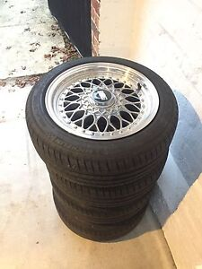 BBS Rims with Tyres Kew East Boroondara Area Preview