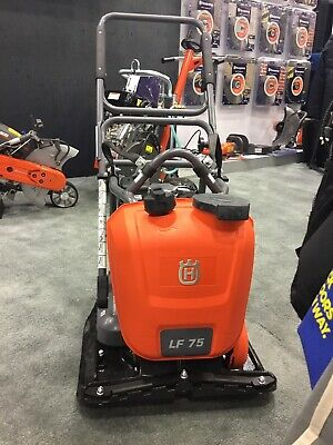 New Husqvarna Lf75-lat 17in Plate Asphalt Soil Compactor With Honda Engine