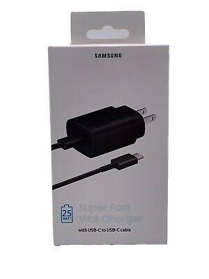 NEW *Sealed Box* Original Samsung Super Fast Charger 25W EP-TA800 W/ USB-C