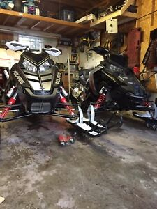 2015 Polaris pro s rush 2010 rush 600 2009 triton trailer