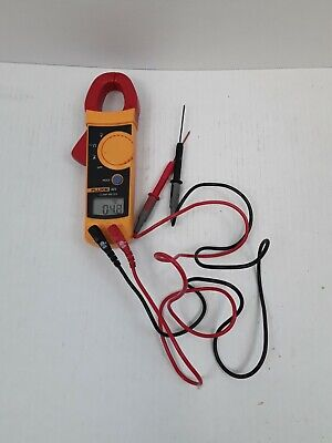 Fluke 321 Multimeter With Leads And Bag