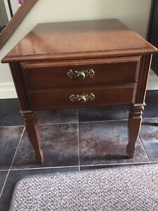 Canadian Made Solid Wood End Table