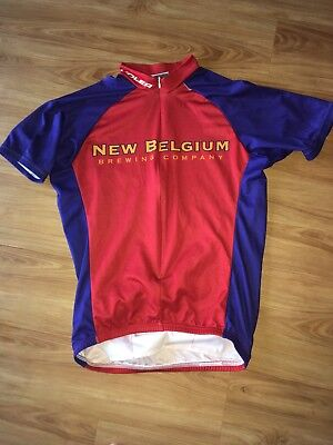 6947dbf6a89 Voler New Belgium Fat Tire Cycling Jersey Mens Small