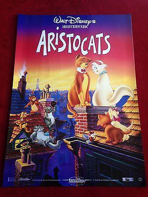 Aristocats Kinoplakat Poster A1 Walt Disney