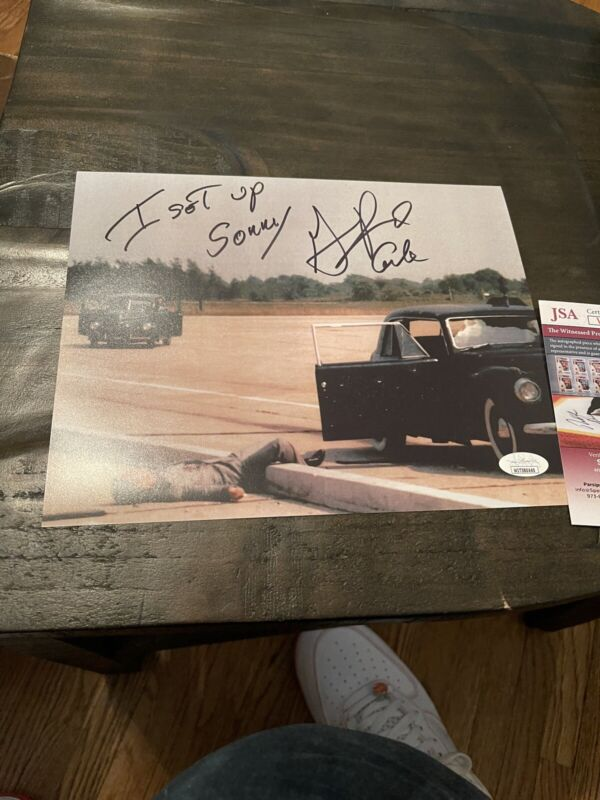Autographed Gianni Russo Signed 8x10 Photo Carlo Godfather Marlon Brando Jsa Coa