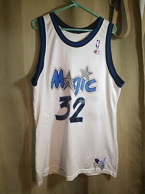 Orlando Magic Shaquille O'Neal Jersey 48 XL Champion Vintage NBA