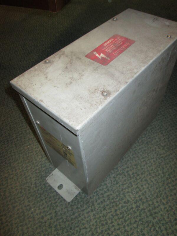 ABB Capacitor C485R50 50KVAR 480V 3Ph Used