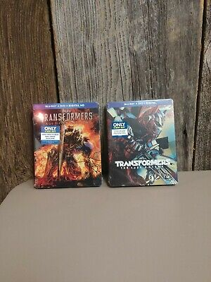 Transformers Age Of Extinction And The Last Knight Both In Steelbook