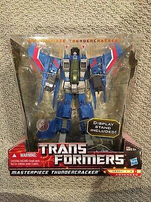 Transformers: Masterpiece -THUNDERCRACKER- Hasbro Toys R Us Exclusive COMPLETE