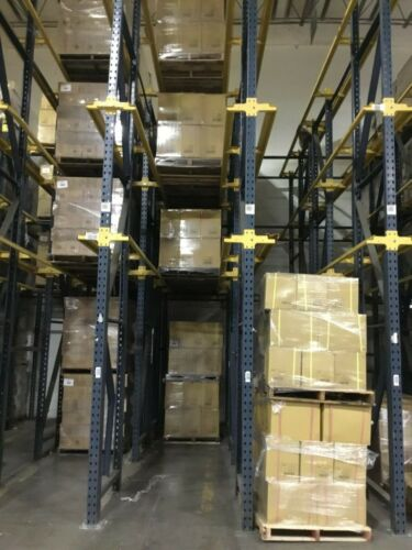 Used Warehouse T Bolt Drive In Pallet Rack Package