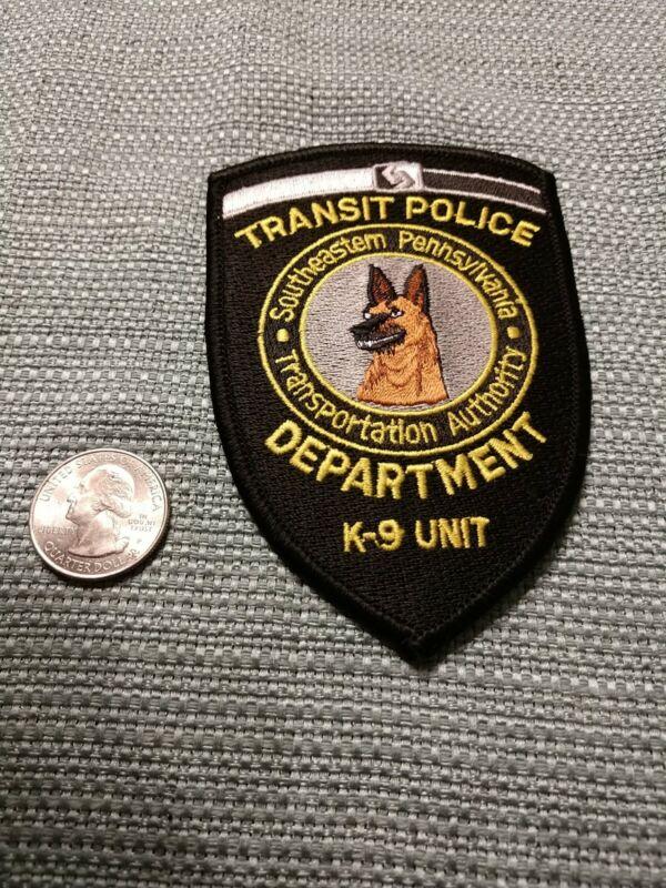TRANSIT POLICE DEPARTMENT K-9 UNIT SOUTHEASTERN PENNSYLVANIA