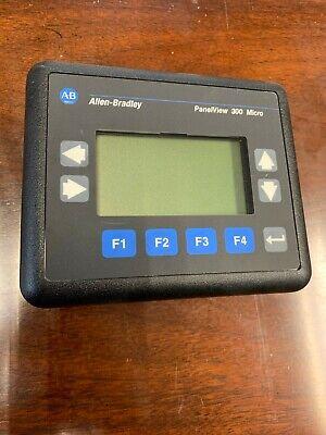 Allen Bradley Panelview 300 Micro 2711-m3a18l1 Ser A