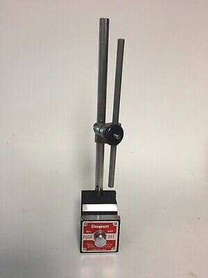 Starrett No. 657 Magnetic Dial Indicator Stand