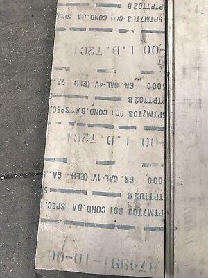 Titanium Sheet 6al-4v Eli Mill Rmi .500 X 12 X 36