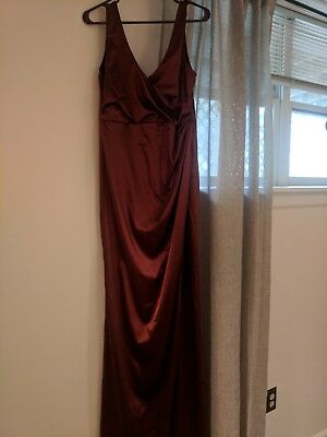 Burnt Orange Formal Dress Windsor Store Size Large Brand New With Tags