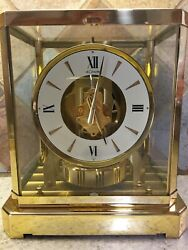 Jaeger~*LECOULTRE ATMOS CLOCK*~Model 528~SERIAL #299000~Gold Plated~NOT RUNNING