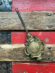 ANTIQUE ORIGINAL MANTEL SHELF WALL CLOCK PART ADJUSTABLE PENDULUM BOB NEW HAVEN