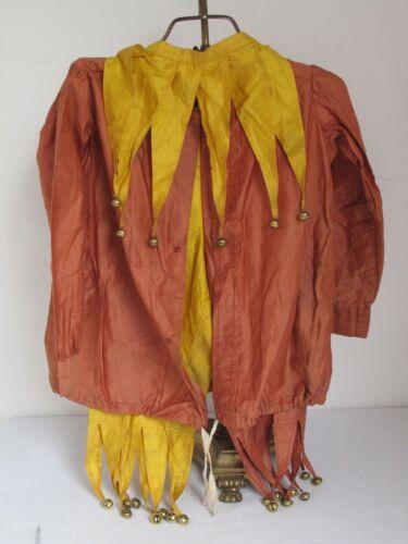 Vintage  Kids 3pc. Halloween Jester Costume